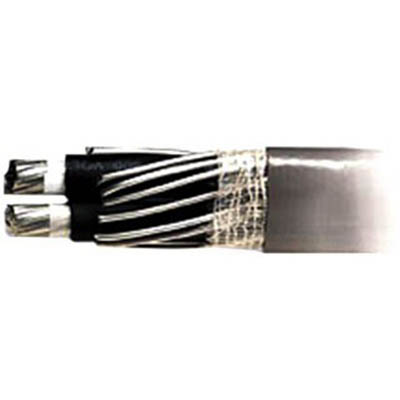 Aluminum Building Wire SEU Cable; 4/0-4/0-4/0 AWG, Aluminum Conductor, 500 ft Reel