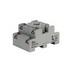 Idec SR2P-05 SR Series Relay Socket; 10 Amp, 300 Volt, 2-Pole, DIN Rail Snap/Surface Mount