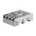 Idec SR2P-06 SR Series Relay Socket; 10 Amp, 300 Volt, 2-Pole, DIN Rail Snap/Surface Mount