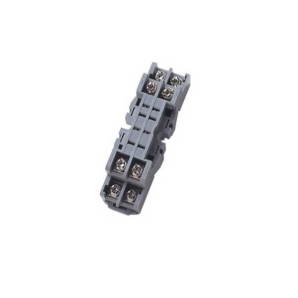 Idec SY2S-05 SY Series Relay Socket; 7 Amp, 300 Volt, 2-Pole, DIN Rail Snap/Surface Mount