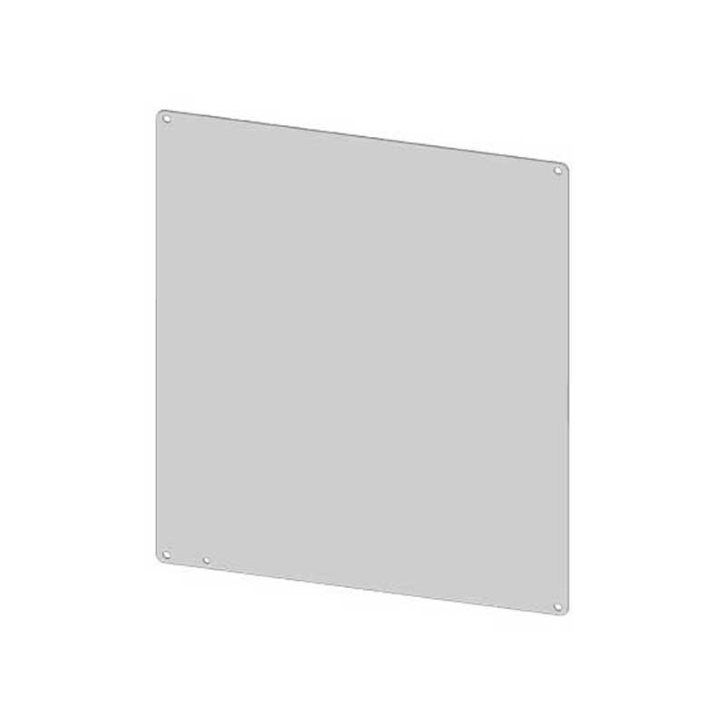 Saginaw Control and Engineering SCE-24P24 Subpanel; Carbon Steel, White Powder-Coated