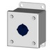 Saginaw Control and Engineering SCE-1PB Pushbutton Enclosure; Carbon Steel, ANSI 61 Gray