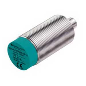 Pepperl & Fuchs NEN40-30GM60-E2-V1 Inductive Proximity Sensor; 10 - 30 Volt, 40 mm Sensing Distance, PNP, DC Output, NO Operating Mode