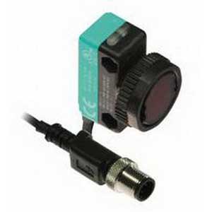 Pepperl & Fuchs ML17-8-H-50-RT/115B/136 Background Suppression Photoelectric Sensor; 10 - 30 Volt DC, 10 - 50 mm Sensing Range, 2 Push-Pull Output