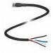 Pepperl & Fuchs V31-GM-BK10M-PVC-U 4-Pin Straight Female Cordset; 10 m Cable, PVC Cable, Black