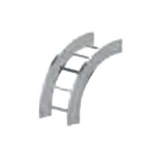Cablofil LD-6A-90VO24-12 Ladder Rung 90 Degree Verical Outside Elbow; Aluminum