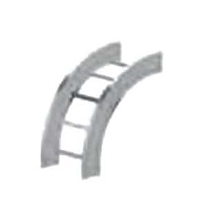 Cablofil LD-6A-90VO12-06 Ladder Rung 90 Degree Verical Outside Elbow; Aluminum