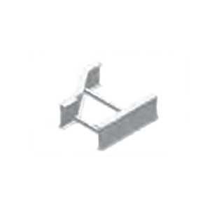 Cablofil LD-6A-LR12-06 Left Hand Ladder Rung Offset Horizontal Reducer; Aluminum, Red