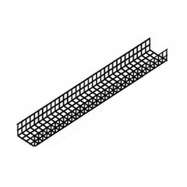 MP Husky WB24-12-120-P Ventilated Wire Basket Tray 120 Inch x 12 Inch x 4 Inch
