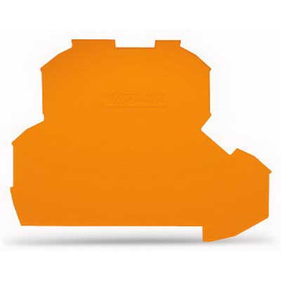 Wago 2002-2292 End and Intermediate Plate; Orange