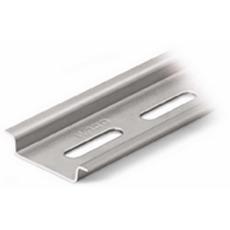 Wago 210-112 DIN Rail; 2000 mm Length, Steel