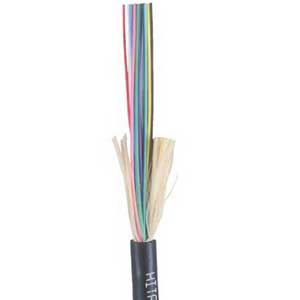 """""Hitachi 61459-012 I/O Tight Buffered Fiber Optic Plenum Cable 12-Fiber, OS2 8.3um Singlemode Fiber, Thermoplastic,"""""" 519892"