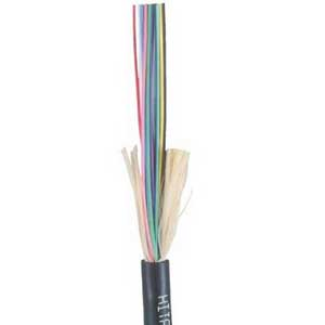 """""Hitachi 61468-12 I/O Tight Buffered Fiber Optic Plenum Cable 12-Fiber, OM3 50um Fiber, Thermoplastic,"""""" 578694"