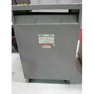 Federal Pacific T4T75E FH Transformer 75 KVA Aluminum Winding 3 Phase