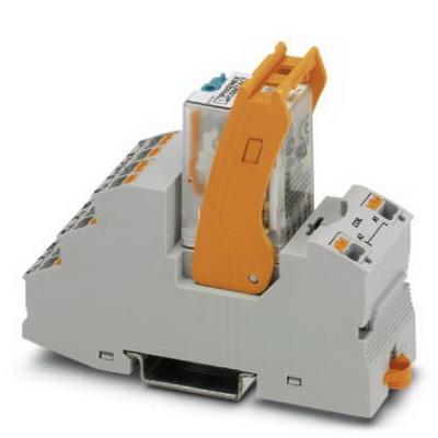 Phoenix Contact Phoenix 2903308 RIF-2-RPT-LDP-24DC/4X21 Relay Module; 41 Milli-Amp Input, 4 Pole