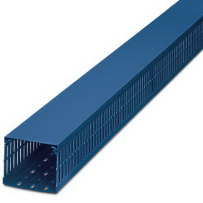 Phoenix 3240315 Cable Duct; 2000 mm x 60 mm x 80 mm, PVC
