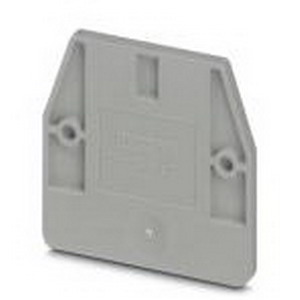 Phoenix Contact Phoenix 3248033 D-MUT 2.5/4 End Cover; Gray