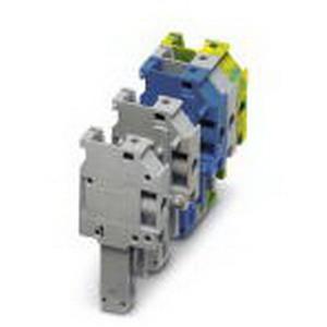 Phoenix Contact Phoenix 3060047 UP 4/ 1-L GNYE Plug; 1 Position, Green-Yellow