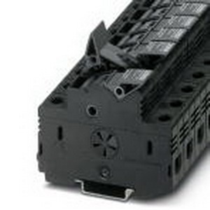 Phoenix Contact Phoenix 3048386 Fuse Modular Terminal Block; 32 Amp, 690 Volt, M5 Screw Connection, NS 35/7.5, NS 35/15 DIN Rail Mount, Polyamide, Black