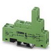 Phoenix 2833521 PR1-BSC3/2X21 Relay Socket; 12 Amp, 300 Volt AC/DC Input, NS 35/7.5 Din Rail Mount