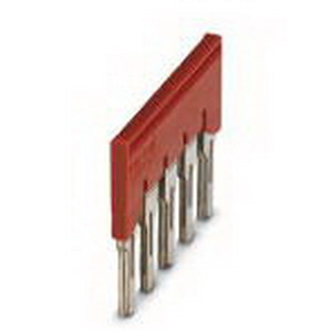 Phoenix 3030310 FBS 5-8 Plug-In Bridge; 5 Position, Red, Tab