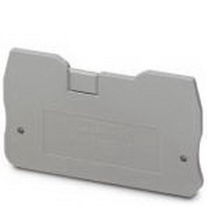 Phoenix Contact Phoenix 3205161 D-QTC 1.5 End Cover; Gray