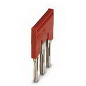 Phoenix Contact Phoenix 3030297 FBS 3-8 Plug-In Bridge; 3 Position, Red