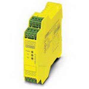 Phoenix Contact Phoenix 2981059 PSR-SCP- 24UC/ESL4/3X1/1X2/B Safety Relay; 150 Milli-Amp AC, 70 Milli-Amp DC Input, 10 Amp Output, DIN Rail Mount