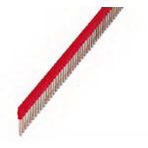 Phoenix 3032224 FBS 50-6 Plug-In Bridge; 50 Position, Red, Tab