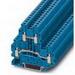 Phoenix Contact Phoenix 3044791 Double-Level Terminal Block; 30 Amp, 800 Volt, M3 Screw Connection, Polyamide, Blue