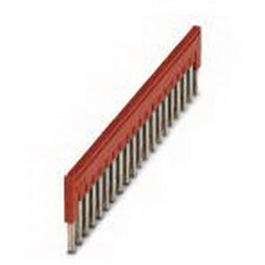 Phoenix Contact Phoenix 3030352 FBS 20-4 Plug-In Bridge; 20 Position, Red
