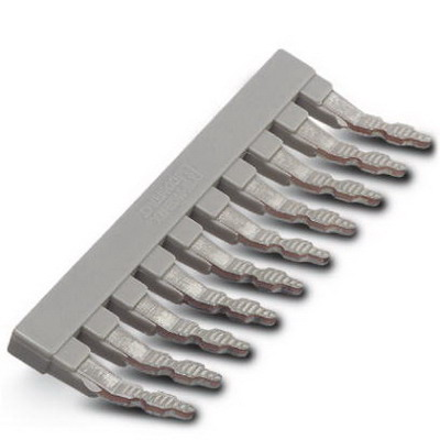 Phoenix Contact Phoenix 0202138 EB 10-8 Insertion Bridge; 10 Position, Gray