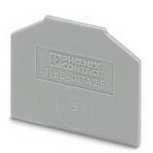 Phoenix Contact Phoenix 0790417 D-OTTA 6 End Cover; Gray