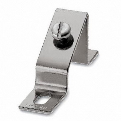 Phoenix Contact Phoenix 1201086 BG/S Angled Bracket; 87 mm Length, Steel, For Fixing DIN Rails At An Angle Of 30 Deg