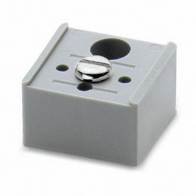 Phoenix 1201141 AB/NS Support Bracket; 35 mm Length, Polyamide, For Fixing DIN Rails In Insulated Systems
