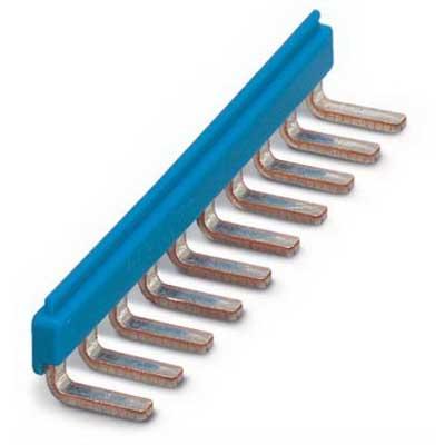 Phoenix Contact Phoenix 2716680 EB 10- DIK Insertion Bridge; 10 Position, Copper, Blue