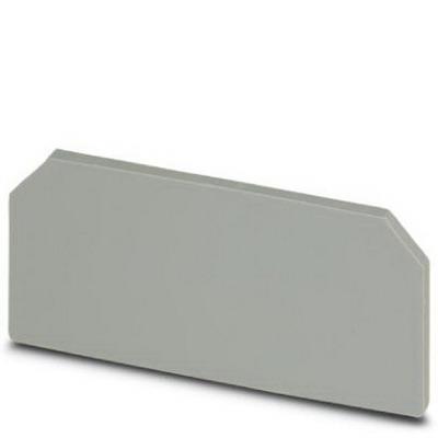 Phoenix 2770794 DP-UKK 3/5 Spacer Plate; Gray