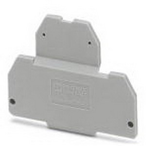 Phoenix Contact Phoenix 3002665 D-MTTB 1.5 End Cover; Gray