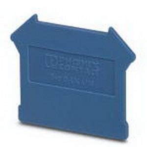 Phoenix 3003101 D-UK 4/10 End Cover; Blue