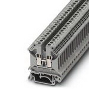 Phoenix Contact Phoenix 3004362 Feed-Thru Terminal Block; 32 Amp, 800 Volt, M3 Screw Connection, NS 35/NS 32 DIN Rail Mount, Polyamide, Gray