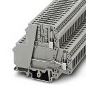 Phoenix Contact Phoenix 3007042 Disconnect Terminal Block; 26 Amp, 400 Volt, M3 Screw Connection, NS 35/7.5, NS 35/15, NS 32 DIN Rail Mount, Polyamide, Gray