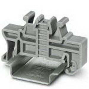 Phoenix 3022218 CLIPFIX 35 End clamp; Polyamide, Gray, Quick/Snap On Mount