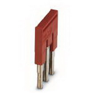 Phoenix Contact Phoenix 3030174 FBS 3-5 Plug-In Bridge; 3 Position, Red, Tab