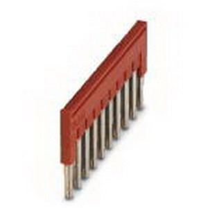 Phoenix Contact Phoenix 3030213 FBS 10-5 Plug-In Bridge; 10 Position, Red, Tab