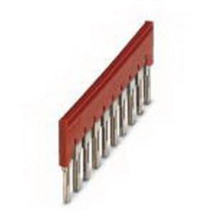 Phoenix Contact Phoenix 3030323 FBS 10-8 Plug-In Bridge; 10 Position, Red, Tab