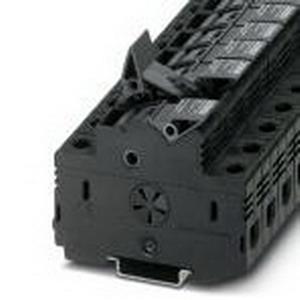 Phoenix Contact Phoenix 3048616 PLC-RPT- 24DC/ 1AU/SEN Fuse Modular Terminal Block; 32 Amp, 690 Volt, M5 Screw Connection, NS 35/7.5, NS 35/15 DIN Rail Mount, Polyamide, Black