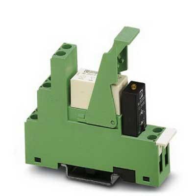 Phoenix Contact Phoenix 2834326 PR1-RSC3-LDP-24DC/21 Relay Module; 19 Milli-Amp Input, 24 Volt DC, 1-Pole, DIN Rail Mount