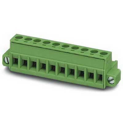 Phoenix Contact Phoenix 1778027 PSR-SCP- 24UC/ESA4/2X1/1X2 Printed-Circuit Board Connector/Plug Component; 12 Amp, 320 Volt, M3 Screw Connection, 6 Position, Polyamide, Green