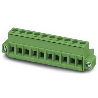 Phoenix Contact Phoenix 1778085 PSR-SCP- 24UC/ESA4/3X1/1X2/B Printed-Circuit Board Connector/Plug Component; 12 Amp, 320 Volt, M3 Screw Connection, 12 Position, Polyamide, Green