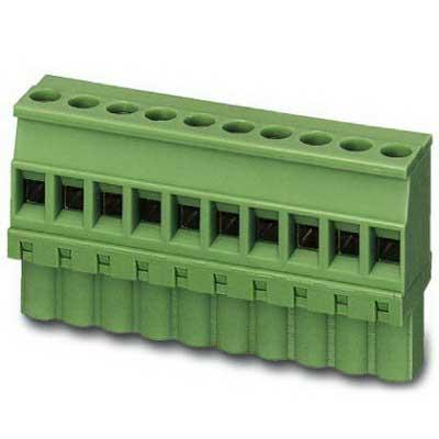 Phoenix 1792605 PSR-SCP- 24UC/ESM4/3X1/1X2/B Printed-Circuit Board Connector/Plug Component; 12 Amp, 320 Volt, M3 Screw Connection, 10 Position, Polyamide, Green